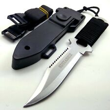 Hunting Knife Fixed Blade Stainless Steel  Multifunction Tactical Knives Camping
