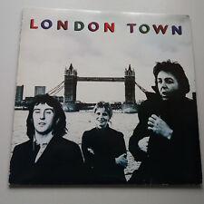 Paul McCartney - London Town Vinyl LP Germany 1st Poster + Inner -A/-B VG+/NM