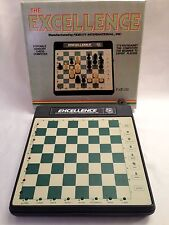 The Excellence Portable Sensory Chess Computer Vintage Fidelity International