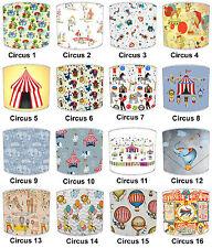 Childrens Lampshades Ideal To Match Circus Duvet Circus Wallpaper Circus Cushion