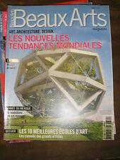 Beaux Arts Magazine N°321 JEAN MICHEL OTHONIEL ODILON REDON LUC TUYMANS DESIGN