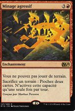 MTG Magic - Magic 2015  - Minage agressif -  Rare VF