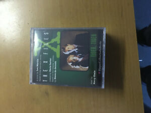 THE X FILES - TIGER TIGER - SEALED DOUBLE CASSETTE AUDIO BOOK