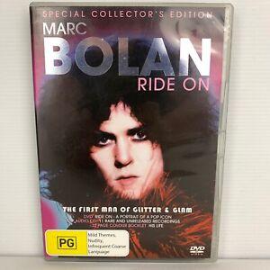Marc Bolan - Ride On DVD Region 4 Free Postage