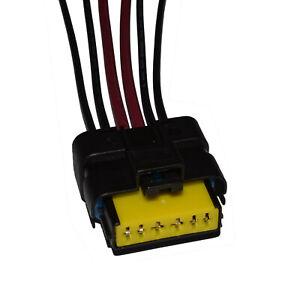 Stecker für Fensterheber Renault Reparatursatz Kabel Reparatur 6-polig