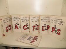 le nouveau dictionnaire des oeuvres par Laffont Bompiani collection bouquins