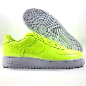 Nike Air Force 1 '07 LV8 UV Volt Green White AJ9505-700 Men's 9.5-11.5