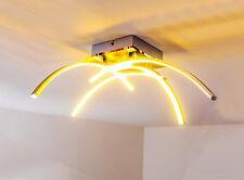 Lampadario da soffitto Plafoniera 4 bracci LED Bianco caldo arredo salotto ragno
