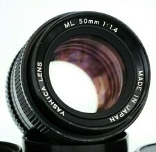 YASHICA ML 50mm f1,4 - Contax Yashica mount lens made in Japan