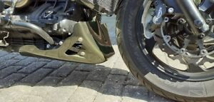 TRIUMPH ROCKET 3 BELLY PAN - BLACK FIBREGLASS  - MID SIZE -