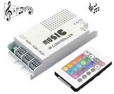 RGB LED Music Sound Beat RGB LED Color Changing Car Auto Controller Box 12V Dc