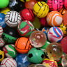 10X Color 27mm Bouncy Jet Balls Kids Toy For Pinata Loot Party Bag Fillers Pop.