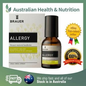 BRAUER ALLERGY SPRAY 20ML // RELIEVE SYMPTOMS NATURALLY + FREE SHIPPING