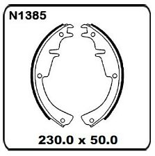 Holden Sunbird LX UC w/Girling Front Disc 1979-1980 REAR Drum Brake Shoe N1385
