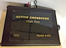 PAC | Electronic Crossover High Pass | Model S-HP! ADJUSTABLE! *200HZ* RARE!!!