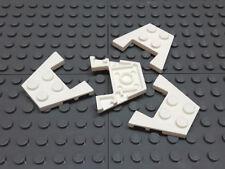Fliese // Tile 4 x 6 mit Noppen an den Rändern 4 Stück schwarz # 6180 LEGO