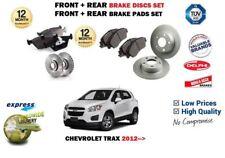 für Chevrolet Trax 2012- > front + Bremsscheiben SET hinten & Bremsbeläge Set