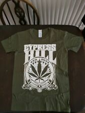 CYPRESS HILL 420 2013 Olive Green Tshirt - Small