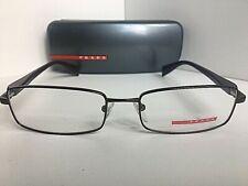New PRADA Sport VPS 50B ACD-1O1 Bronze 53mm Rectangular Men's Eyeglasses Frame
