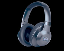 JBL Everest Elite 750NC Over-Ear ANC Wireless Bluetooth Headphones BLUE