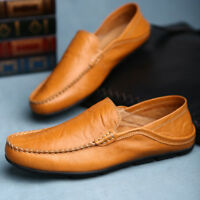 Fashion Casual Driving Shoes Genuine Leather Loafers Men Shoes 2019 New Men Loaf
