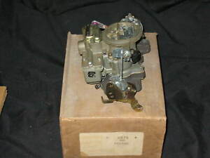 NOS 2BBl Carter WGD 4875 Pontiac 389-400 replacement carburetor 1965-1967 NEW