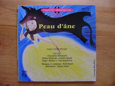 Peau d'âne - Livre-disque vinyle 45T Philips - Jean Rochefort