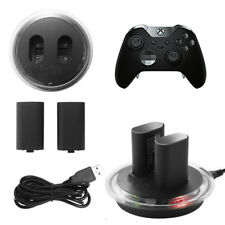 1400mAh Rechargeable Battery Kit + Charge Dock Station for XBOX ONE X Controller