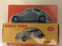 "DIE CAST "" VW MAGGIOLINO "" DEAGOSTINI DINKY TOYS (ATLAS) SCALA 1-43"