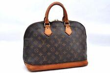 Authentic Louis Vuitton Monogram Alma Hand Bag M51130 LV A0841