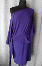 ✔Joseph Ribkoff Purple Stretch Pencil Dress Size US 10 UK 12