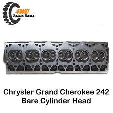Chrysler Grand Cherokee 242 New Bare Cylinder Head