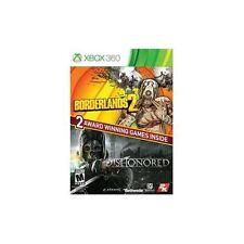Borderlands 2/Dishonored (Microsoft Xbox 360, 2014) NEW