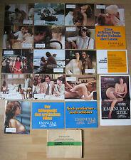 Aushangfotos * 18 AHFs + Kleinplakat + * Emanuela 2. Teil - Garten der.. EA 1972