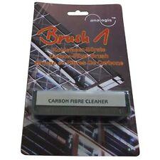 Brosse en Carbone Microfibres pour nettoyage de disques vinyles, très douce.