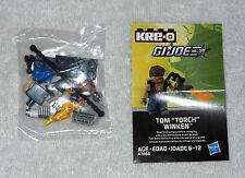 """2014 Tom """"Torch"""" Winker - KRE-O - GI Joe figure 100% (Mint in Package)"""