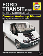 Haynes Ford Transit 2.0 2.4 Diesel inc. Tourneo 2000 - 2006 Manual 4775 NEW
