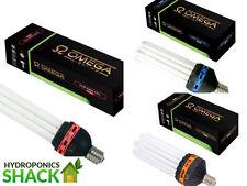 Omega CFL Hydroponics Lamp Bulb Dual Spectrum Red Blue 450w 300w 125w 200w E40