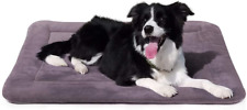 New listing JoicyCo Dog Beds for Medium Dogs Crate Bed Mat 35 in- Washable Non-Slip Soft M