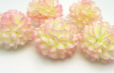 10 pcs Daisy Artificial flower Silk Spherical Heads Wedding Decor Gouache 5 CM