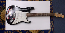 John Lennon Beatles FENDER Electric Guitar Hand Painted WOW
