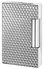 S.T. Dupont Ligne 2, Palladium Fire Head Lighter, ST016623 (016623), New In Box