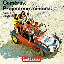 Accessoires Lecture et Publicité: Catalogue Eumig : Caméras, Projecteurs cinéma