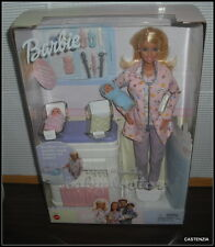 NRFB BARBIE MATTEL 2002  HAPPY FAMILY BABY DOCTOR TWINS GIRL BOY BABY NEWBORNS