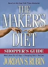 The Maker's Diet Shopper's Guide - Jordan S. Rubin -  Meal Plans for 40 Days