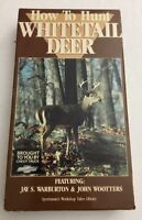 How To Hunt Whitetail Deer VHS #8969 by Jay S. Warburton-TESTED-RARE-SHIP N 24 H