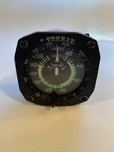 Cessna Airspeed indicator, P/N C661065-0214 from Cessna U206G