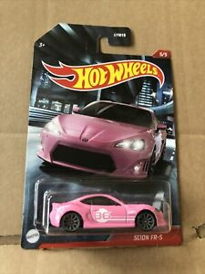 HOT WHEELS DIECAST - Deco Rally - Scion FR-S - 5/5 - Combined Postage