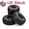 4pcs 12mm Hex 1/10 RC Short Course Truck Tires & Wheels For TRAXXAS SLASH HPI