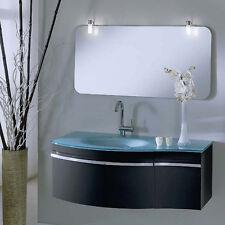 Mobile da bagno in wenge' Piesse sospeso moderno da 110 cm art. Orchidea